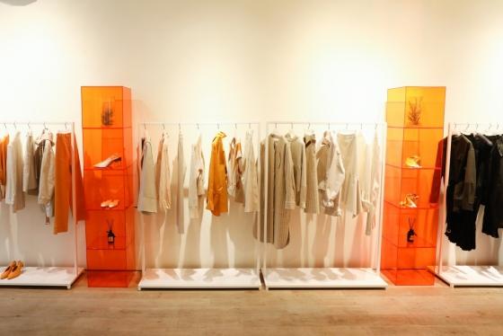 미국 뉴욕에  298㎡(약 90평) 규모로 꾸며진 구호 팝업스토어 내부 모습/사진제공=삼성물산 패션부문