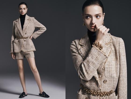 보브 트위드 재킷 모델컷/사진제공=신세계인터내셔날