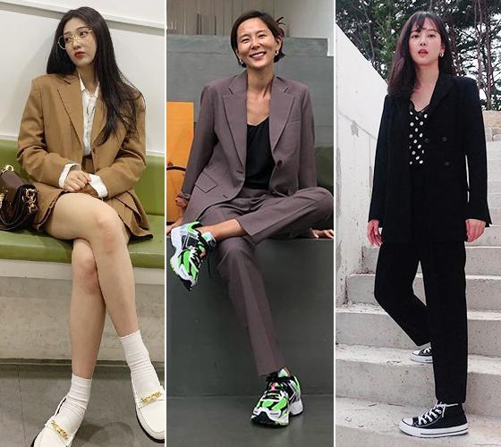 그룹 레드벨벳 조이, 방송인 김나영, 배우 윤승아/사진=각 스타 인스타그램