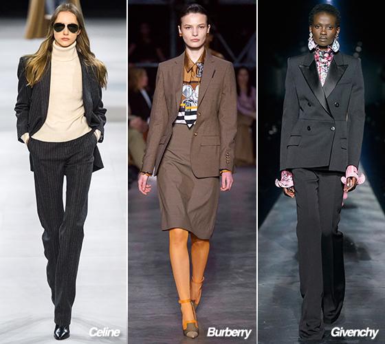 Celine, Burberry, Givenchy 2019 F/W 컬렉션/사진=각 브랜드