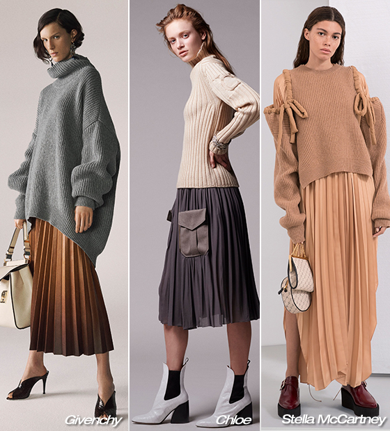 Givenchy, Chloe, Stella McCartney 2019 Pre-fall 컬렉션/사진=각 브랜드