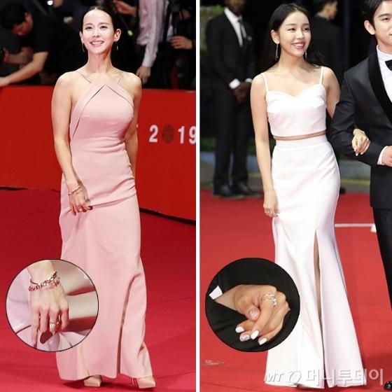 배우 조여정, 백아연 /사진=김휘선 기자