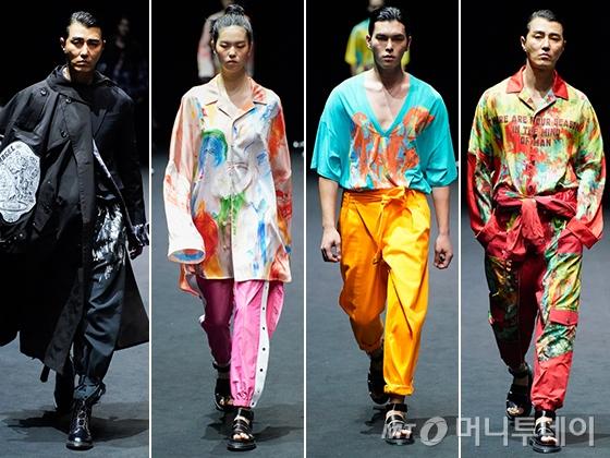 '계절'을 입은 남자…'송지오 옴므' 2020 S/S 컬렉션