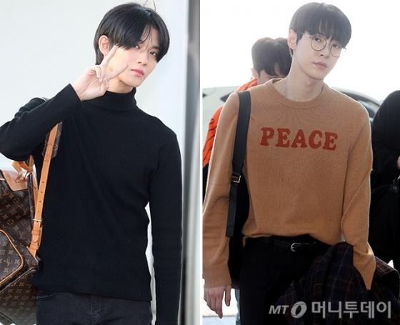 그룹 CIX 배진영, NCT127 도영 /사진=머니투데이 DB