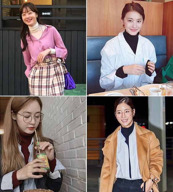 배우 한선화, 유인영, 기은세, 성유리/사진=각 스타 인스타그램