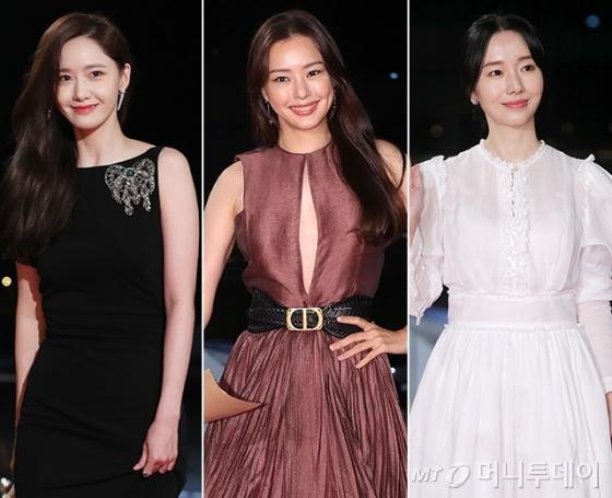 배우 임윤아, 이하늬, 이정현 /사진=뉴스1, 김창현 기자