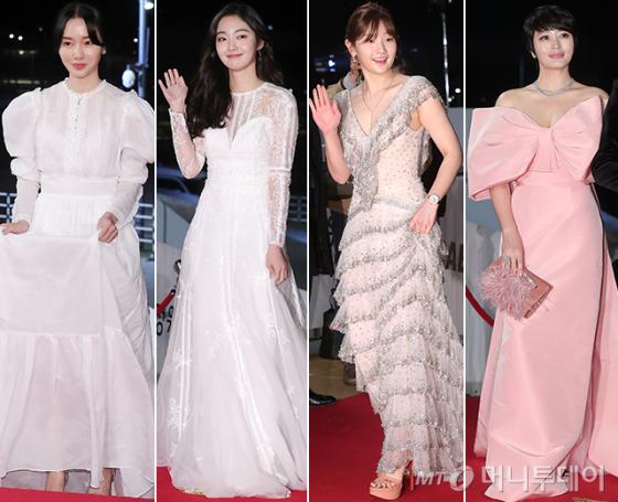 배우 이정현, 김혜준, 박소담, 김혜수 /사진=김창현 기자