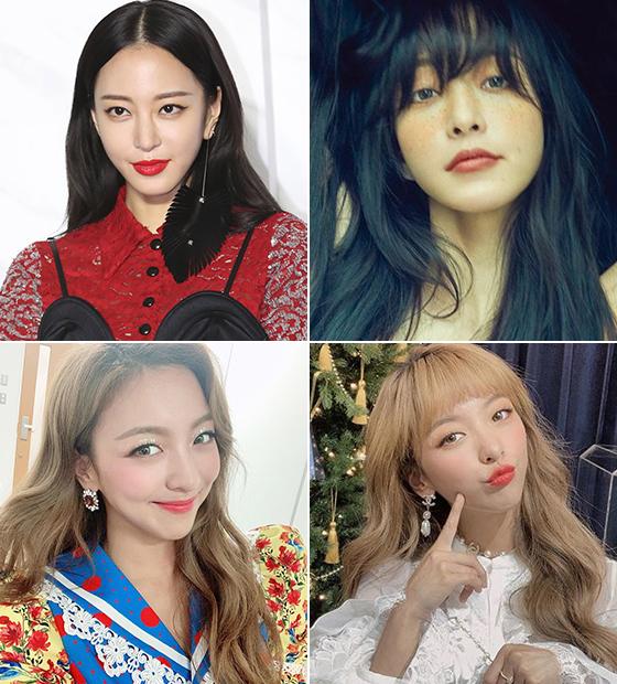 배우 한예슬, 가수 루나/사진=각 스타 인스타그램, 나일론