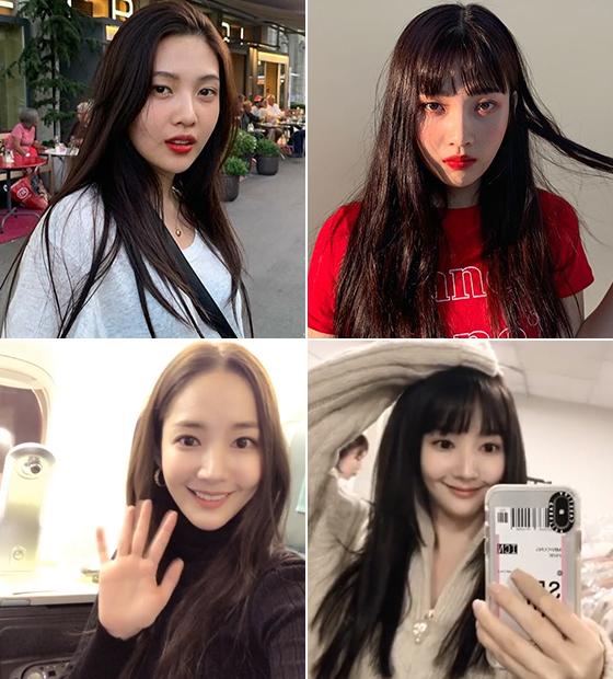 그룹 레드벨벳 조이, 배우 박민영/사진=각 스타 인스타그램