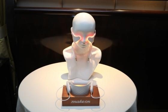 CES 2020에서 선보인 아모레퍼시픽 'LED 플렉서블 패치'(가칭)/사진제공=아모레퍼시픽