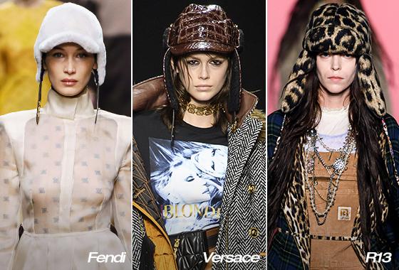 Fendi, Versace, R13 2019 F/W 컬렉션/사진=각 브랜드