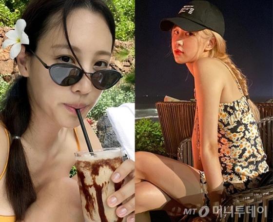 /사진=배우 수현(클라우디아 킴), 블랙핑크 로제 인스타그램