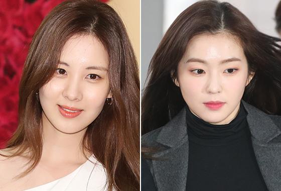 가수 겸 배우 서현, 그룹 레드벨벳 아이린/사진=뉴스1