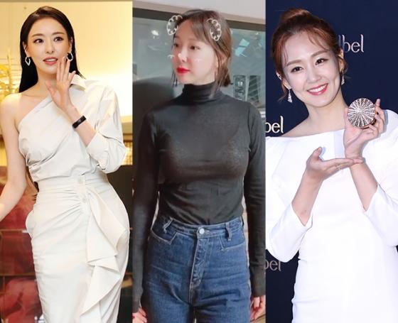 배우 이다희, 방송인 이지혜, 오정연 /사진=머니투데이 DB, 이지혜 인스타그램, 뉴스1