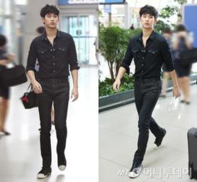 9月 공항패션 뽐낸 남녀★들