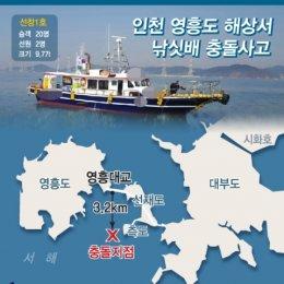 출항 9분만에 '쾅'…영흥도 낚싯배 충돌, 13명 사망 2명 실종 '참사'
