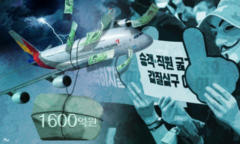 '기내식 대란', 진짜 책임은 아시아나항공에