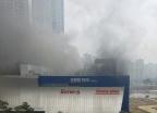 동탄 메타폴리스 뽀로로파크 철거현장서 불… 4명 사망(상보)