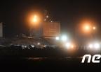 [사진]세월호 '반잠수식 선박에 정위치'