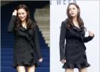 [움짤] 女★들의 아슬아슬 '계단샷' vs  당당 '포토월샷'