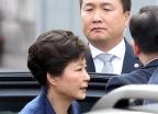 첫 전직 대통령 영장실질심사 출석하는 박근혜