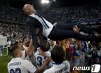 레알, 말리가 꺾고 5년만에 리그우승…통산 33번째