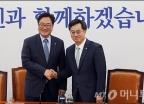 우원식 원내대표 만난 김동연 부총리
