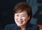 김현미 국토장관 후보자 '여유로운 미소'