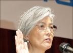 강경화, 첫 여성 외교부 장관 취임