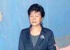 법정 향하는 박근혜 전 대통령