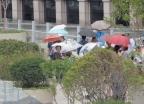 """[내일 날씨]흐리고 가끔 비…""""기온은 평년 수준"""""""