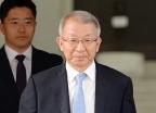 [사진]'판사회의 상설화 수용' 퇴근하는 양승태 대법원장