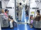 """신분당선 지하철 탄 노인들 """"공짜는 미안한데…"""""""