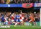 '런던 더비' 아스날-첼시, 0-0 무승부