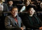 """[포토is...]"""" 전 짬뽕이요""""… 文대통령의 부산국제영화제 방문기"""