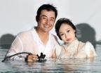 물 속으로 '풍덩'…이세창·정하나 수중 웨딩화보
