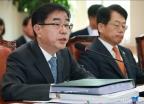 국감 출석한 이헌 대한법률구조공단 이사장