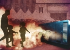 광장은 매연·미세먼지로 몸살…시민 건강 위협