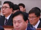 국회 출석한 세월호 현장실무자들