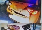 40대 만취 운전자, 순찰차 '쾅'…경찰 2명 부상