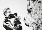 [포토is…]문재인정부 214일, '그림 한 폭'에 담아보니