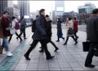'2018년 새해 첫 출근하는 시민들'