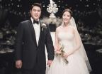 부부가 됐습니다..류현진♥배지현, 결혼식 사진 공개