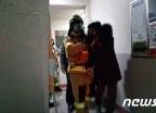 부산 화명동 아파트 화재… 전기장판서 발화 추정