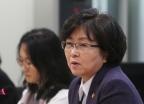 [사진]김은경 환경장관 '미세먼지 회의 모두 발언'
