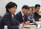 [사진]미세먼지 대책회의 모두 발언하는 김은경 장관