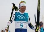 평창 첫 금메달 주인공… 스웨덴 크로스컨트리 샬롯 칼라