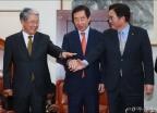 3당 원내대표 회동...'개헌·3월국회' 논의