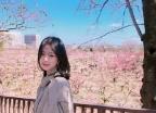 '파이터 데뷔' 이수연, 日서 눈부신 비주얼..'벚꽃여신 등장'