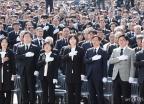 세월호 참사 정부합동 추도식 참석한 각당 대표...한국당은 불참